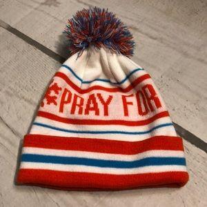 NWOT REI Pray For Snow Pom Hat